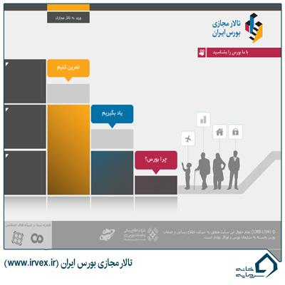سایت بورسی تالار مجازی بورس ایران