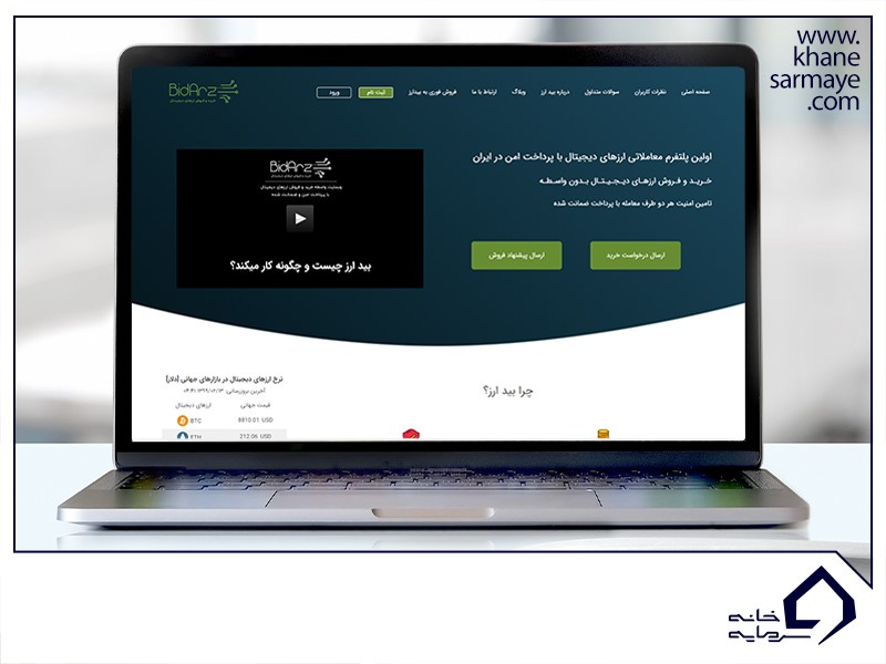 آموزش خرید بیت کوین در ایران