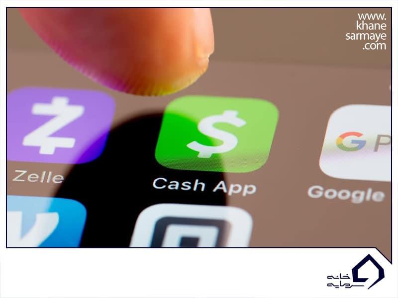 صرافی ارزهای دیجیتال در cash app