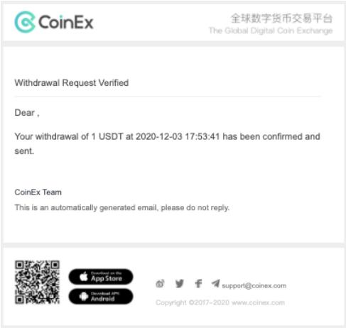 راهنمای coinex