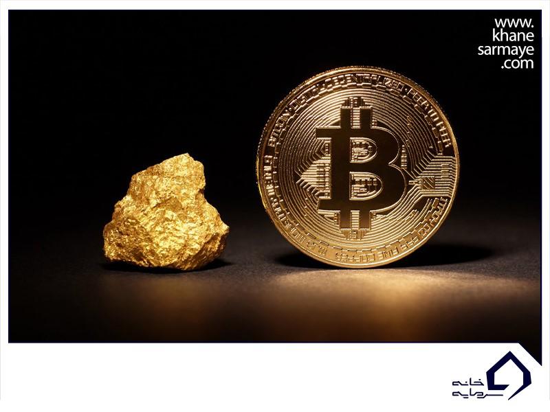 نسبت طلا و بیتکوین