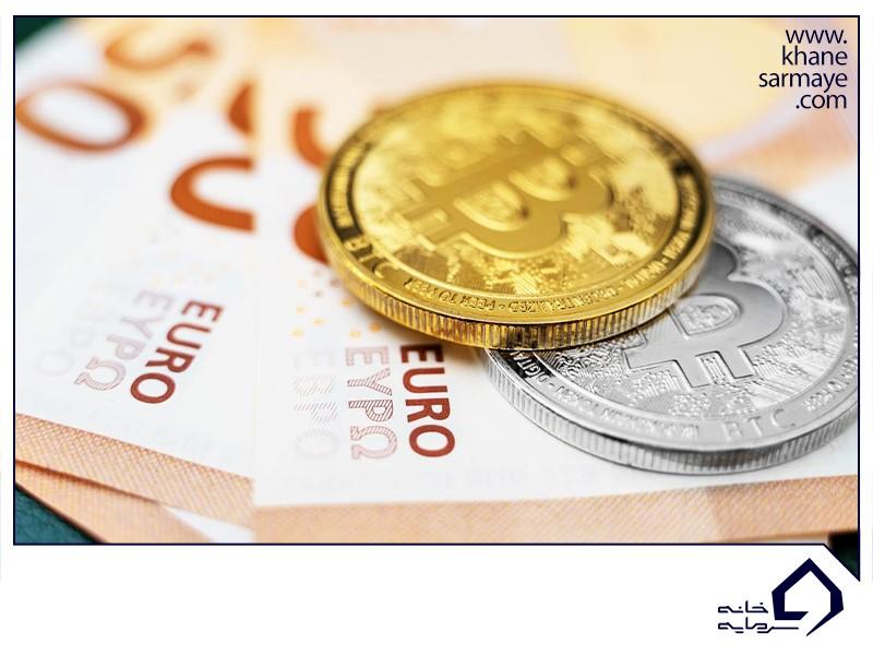 بررسی رابطه بیت کوین با یورو